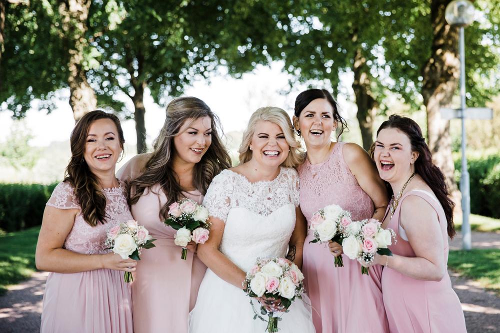 Gruppbilder bröllop